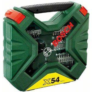 Bosch 2607010610 54 teiliges X Line Set Baumarkt