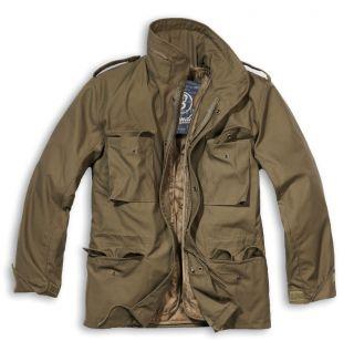 Brandit M65 Standard Field Jacket Military Coat M 65 M 65 Button Out