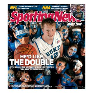 Duke Blue Devils Kyle Singler   November 8, 2010 Prints