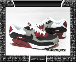 Max 90 Medium Grey White Black Team Red US 8~12 1 95 97 casual