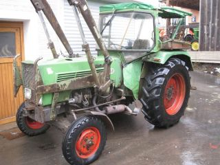 Fendt Farmer 2 S Turbomatik + Frontlader Verdeck Schnellgang Traktor