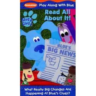 Blues Clues   Blues Big News [VHS] [UK Import] Steve Burns, Traci