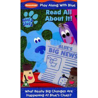 Blues Clues   Blues Big News [VHS] [UK Import] Steve Burns, Traci
