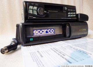 ALPINE Autoradio TDM 7582RM Radio/Kassette/6 fach CD Wechsler