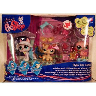 Littlest Pet Shop   FANCIEST   Stylin Pets Runway   Super Set mit