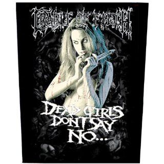 Cradle Of Filth   Dead Girls DonT Say No [Rückenaufnäher, bedruckt
