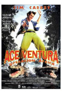 Ace Ventura When Nature Calls, Spanish Movie Poster, 1995 Prints