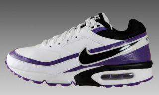 Wmns Nike Air Max Classic BW Weiss/Schwarz/Lila Gr. 40,5 90 LTD 2 II 1