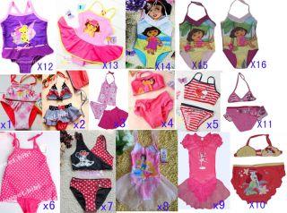 ON SALE children Girl KIDS Swimsuit Swimming tankini Swimwear bather k