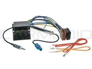 Pioneer 2DIN DVD Radio+Bluetooth Freisprecheinrichtung+Adapter für VW