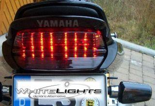 LED Heckleuchte/Rücklicht schwarz Yamaha XJR 1300