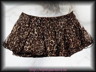 Retro Mini Leo Stufen Rock Jessie Gothic Punk Rockabilly Gothic