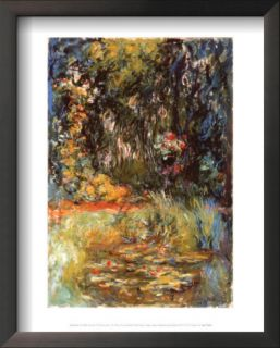 Water Lily Pond, 1918 Prints by Claude Monet
