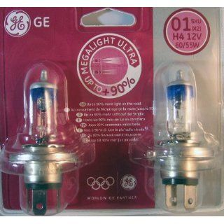 H7 MegaLight Ultra +90%  2er Set von General Electric