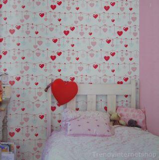 Kinder Tapete Kinderzimmer Kids@Home 31099 Kutsche Krone rosa weiß
