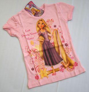 Mädchen Disney T  Shirt Rapunzel / Tangled Gr.92