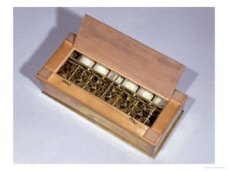Calculating Machine Invented by Blaise Pascal in 1642 Giclee Print