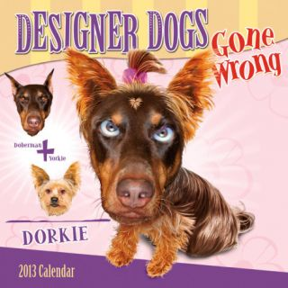 Designer Dogs Gone Wrong   2013 12 Month Calendar Calendars