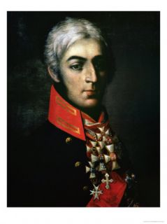 Portrait of Prince Peter Bagration Russian General Giclee Print