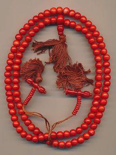 Mala mit 108 Perlen (8 mm) Perlenschmuck prayer beads bijoux 55f