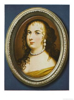 Marie Therese of Austria Spanish Queen of Louis XIV Giclee Print by Jean Petitot