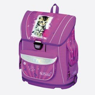 Herlitz 11161692   Schulranzen Midi Plus Pretty Pets Cat: