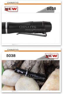 Mini LED Flashlight Portable Torch Pen Shape Light Hot selling Camping