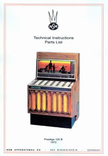 MANUALE COMPLETO/manual JUKEBOX NSM PRESTIGE 120 B