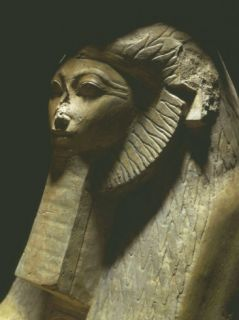Sphinx of Hatshepsut, 1473 1458 BC, Polished Granite, 18th Dynasty Photographic Print