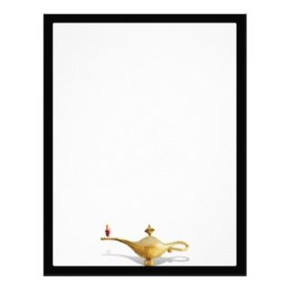 Las Vegas Magic Lamp Letterhead