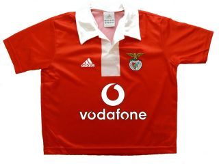 Adidas Benfica Lissabon Kinder Trikot Gr.116 Neu