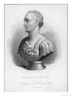 Gaius Julius Caesar Roman Emperor Giclee Print