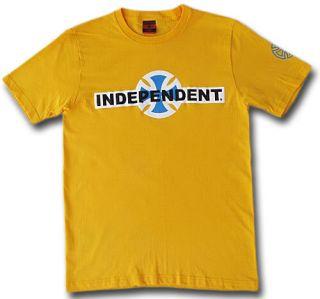 INDEPENDENT CLASSIC original SKATE T SHIRT, Sz. S, M, L