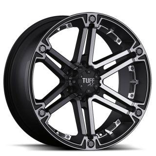 TUFF T01 8x17 5x114,3/127 Felgen für Dodge Nitro Jeep Grand Cherokee