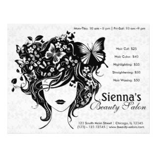 Hair Salon Flyers, Hair Salon Flyer Templates and Printing