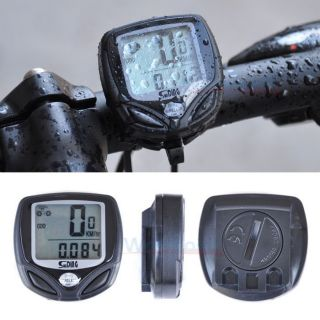 New Wireless LCD Bike Bicycle Cycle Computer Odometer Speedometer