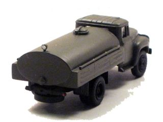 87 HO scale Soviet Military Cistern Car ZIL 130 base
