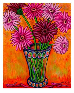 Pretty In Pink Giclee Print by Lisa Lorenz
