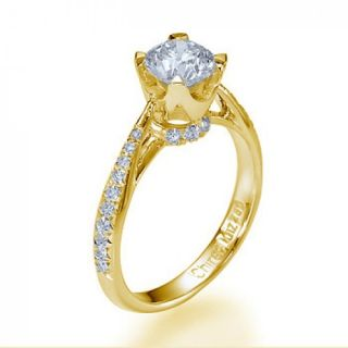71 Carat D/SI Solitar Diamantring 585 14kt Gold Brilliant Ring Wert