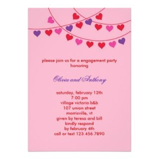 Kids Panda Valentines Birthday Party Invitation