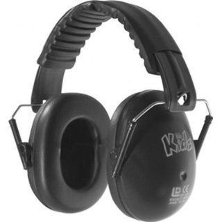 Edz Kidz Kinder Gehörschutz Kapselgehörschutz schwarz: