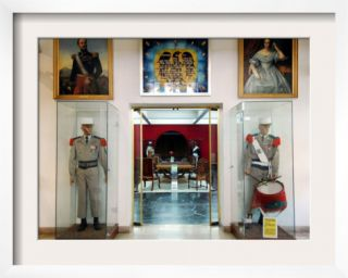 View of the Entrance of the The Foreign Legion Museum in Aubagne, Southern France, October 24, 2006 Framed Photographic Print by Claude Paris
