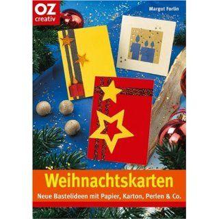Weihnachtskarten: Neue Bastelideen mit Papier, Karton, Perlen & Co