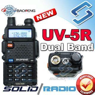 BaoFeng Dual band UV 5R VHF/UHF Dual Band Radio 136 174 400 480Mhz FM