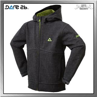 Dare2B Fly + Roll Softshell KinderJacke iron black 140