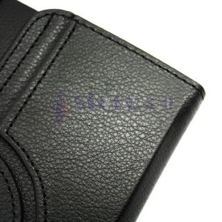 360 Rotating Leather Case Cover for Samsung Galaxy Tab 2 7.0 Black
