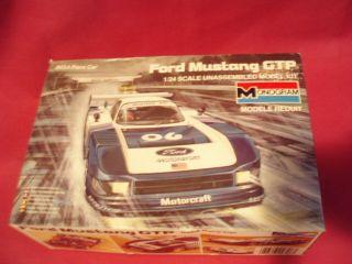 Monogram Bausatz Ford Mustang GTP OVP, IMSA Race Car, 124 (WR142