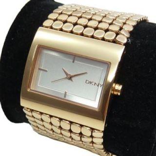 DKNY Damenuhr statt 139 EUR NY8395 Damen Armbanduhr Uhr Uhren gold