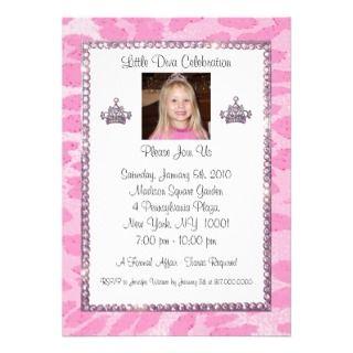 Tiara Gone Wild Invitations