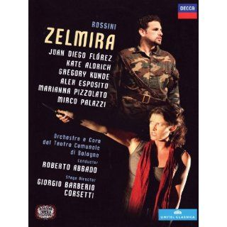 Zelmira [2 DVDs] Juan Diego Flórez, Kate Aldrich, Gregory